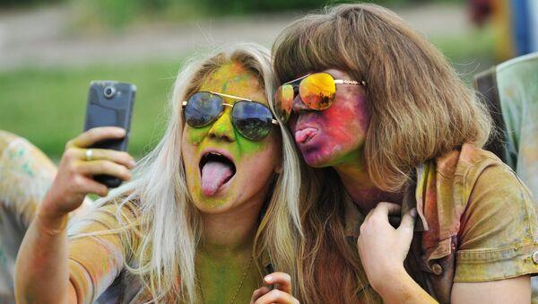 Праздник красок Холи в Ростове-на-Дону
