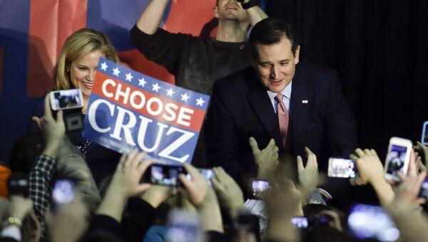 Кандидат Тед Круз. Архивное фото