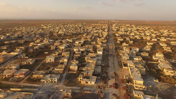 Освобожденный от террористов населенный пункт Осман, юг Сирии