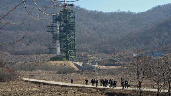 Космодром Сохэ в КНДР. Архивное фото