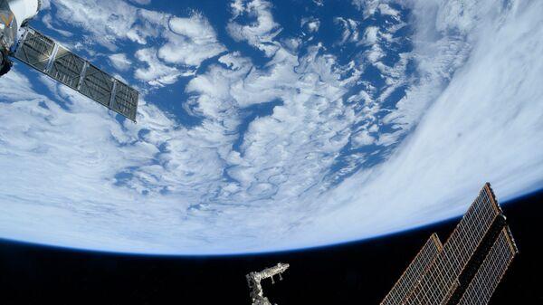 Атлантический океан снятый с Международной космической станции