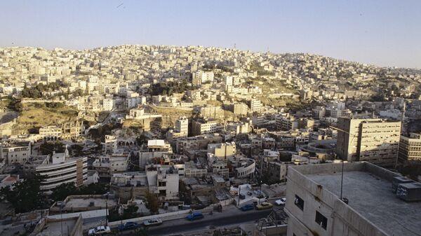 Город Амман, столица Иордании