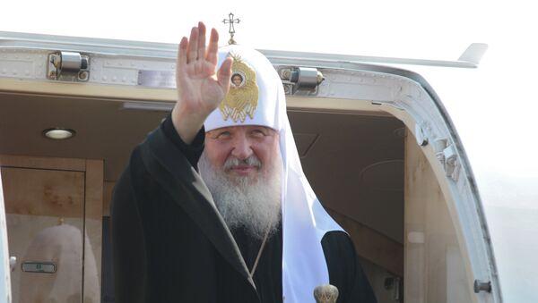 Визит патриарха Кирилла на Украину
