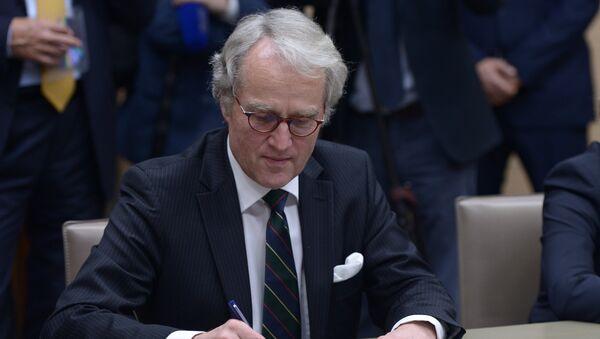 Посол Германии в России Рюдигер фон Фрич. Архивное фото