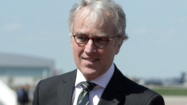 Чрезвычайный и полномочный посол Германии в России Рюдигер фон Фрич