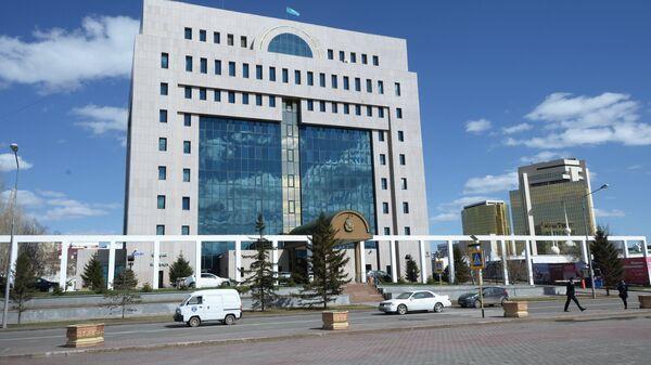 Здание Центральной избирательной комиссии Казахстана. Архивное фото