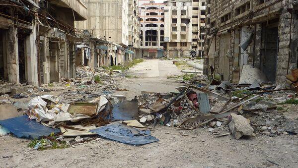 Хомс. Сирия. Архивное фото