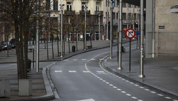 Дорога в Брюсселе. Архивное фото