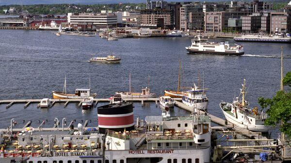 Панорама норвежского города Осло. Архивное фото