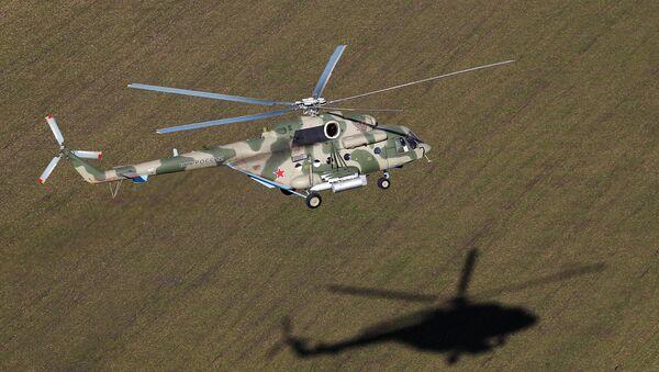 Вертолет Ми-8АМТШ Терминатор