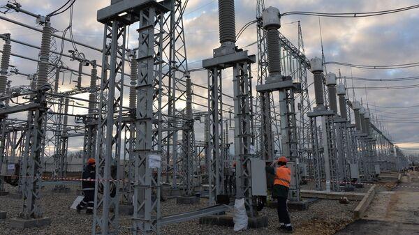 Строительство энергомоста через Керченский пролив