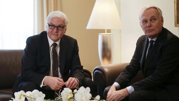 Встреча глав МИД Германии и Франции. Архивное фото
