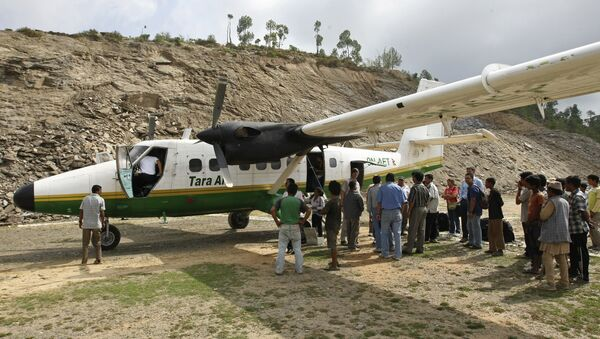 Самолет, похожий на пропавший 24 февраля в Гималаях. Архивное фото