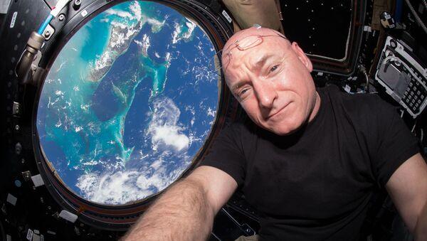 Астронавт NASA Скотт Келли