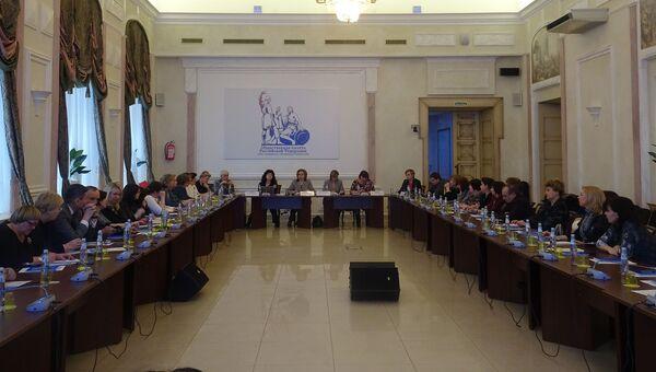 Круглый стол в Общественной палате РФ. Архивное фото
