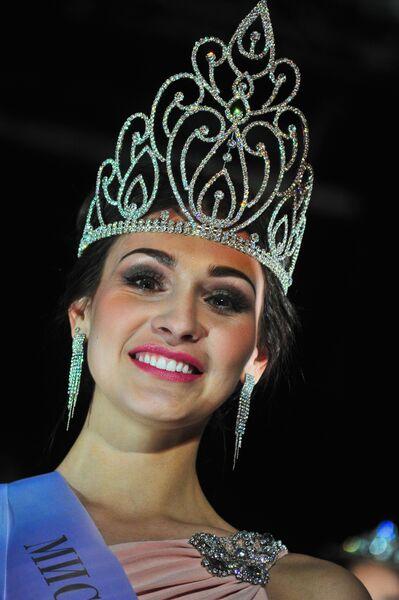Победительница конкурса Мисс Краса Москвы — 2016 Елена Петухова