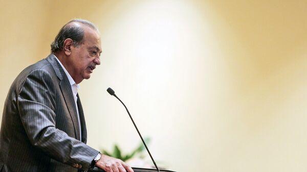 Мексиканский бизнесмен арабского происхождения Карлос Слим Элу. Архивное фото