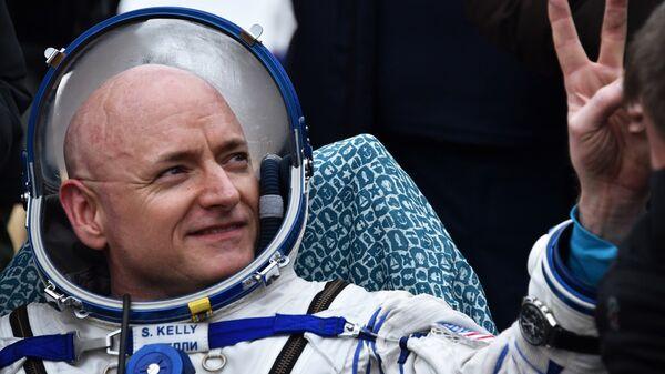 Бывший астронавт НАСА Скотт Келли. Архивное фото