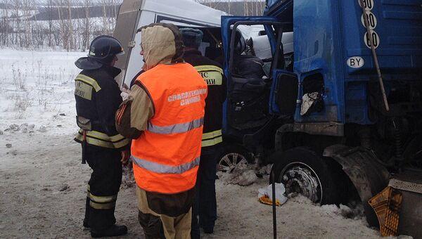 Девять человек погибли в результате ДТП в Пензенской области. Архивное фото