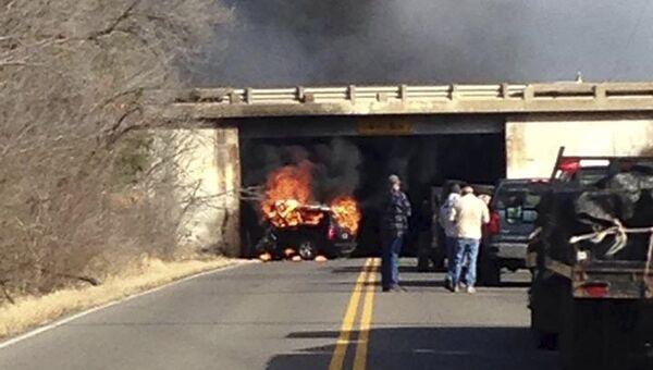 Автокатастрофа, в которой погиб основатель независимой нефтегазовой компании Chesapeake Energy Обри Макклендон