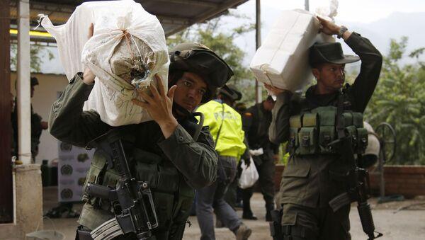 Колумбийские полицейские. Архивное фото