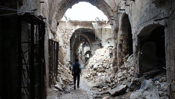 Старый рынок в Алеппо. Архивное фото