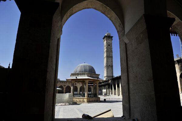 Великая мечеть Алеппо. 2012 год