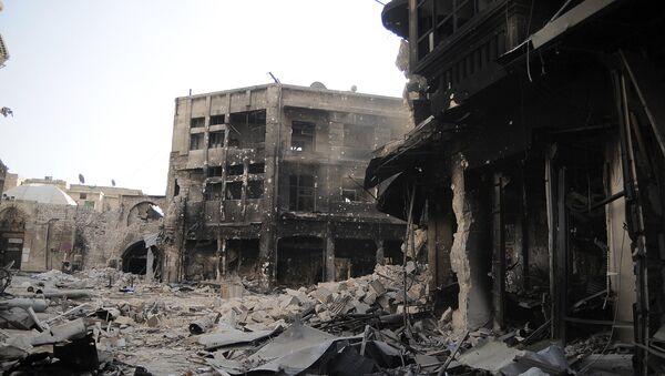 Ситуация в Алеппо. Архивное фото