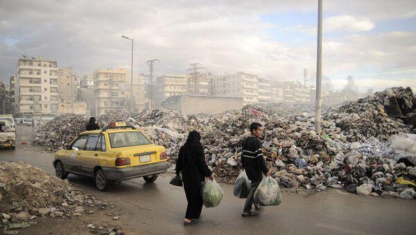 Свалка мусора. Архивное фото