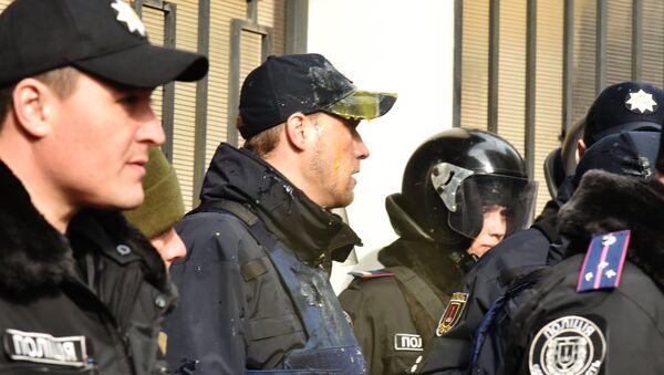 Сотрудники милиции в Одессе. Архивное фото
