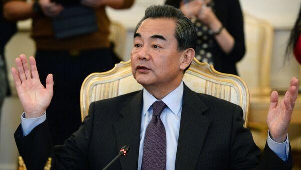 Глава МИД КНР Ван И. Архивное фото
