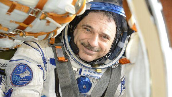 Космонавт Роскосмоса Михаил Корниенко. Архивное фото