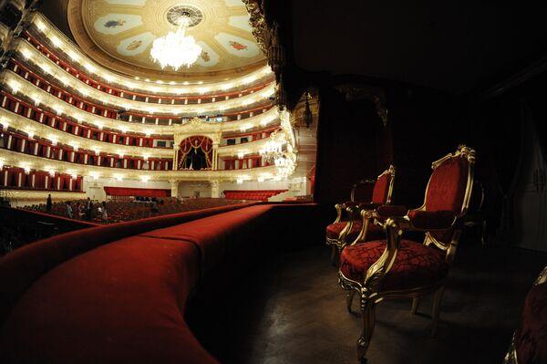 Интерьер Большого театра в Москве после завершения реконструкции