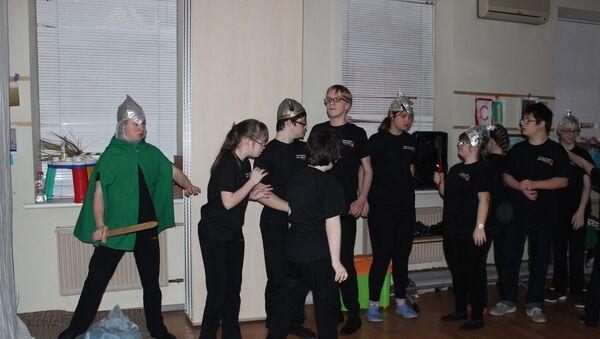 Подопечные фонда Даунсайд Ап приняли участие в постановке спектакля Лукоморье