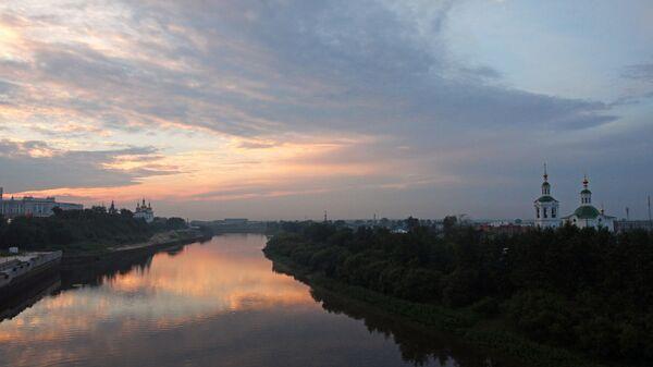 Города России. Тюмень. Архивное фото