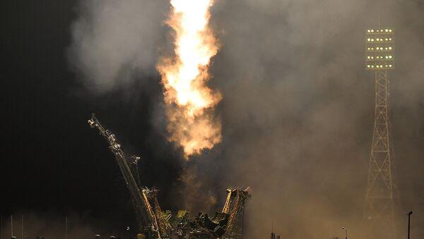 Пуск ракеты, архивное фото
