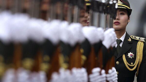 Народно-освободительная армия Китая в Пекине. Архивное фото