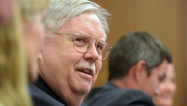 Чрезвычайный и полномочный посол США в России Джон Фрэнсис Теффт. Архивное фото