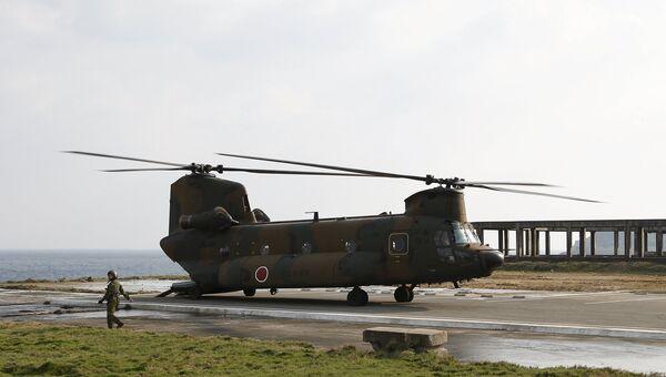 Япония разместила военный гарнизон на острове Ёнагуни. Март 2016