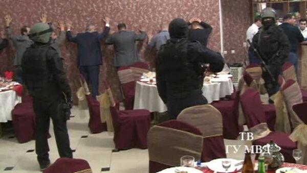 Спецоперация полиции и ФСБ Свердловской области по пресечению попытки встречи лидеров уголовно-преступной среды в Екатеринбурге