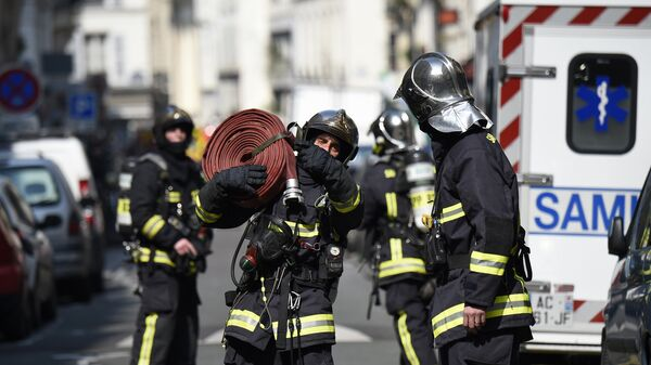 Французские пожарные