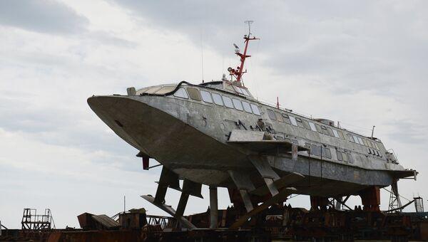 Завод Море в Феодосии. Архивное фото