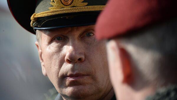 Главнокомандующий внутренними войсками МВД России Виктор Золотов. Архивное фото