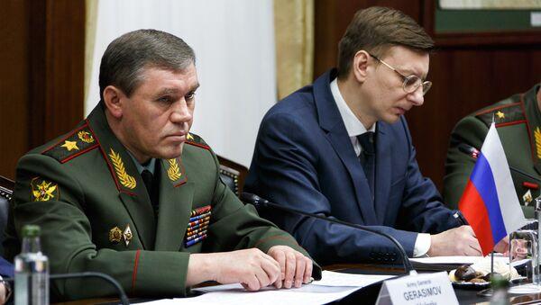Переговоры начальников Генштабов ВС России и Австрии