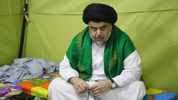 Шиитский священнослужитель Муктада ас-Садр. Архивное фото