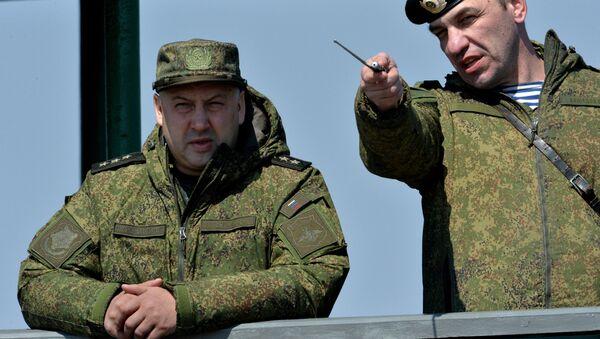 Командующий войсками Восточного военного округа генерал-полковник Сергей Суровикин. Архивное фото