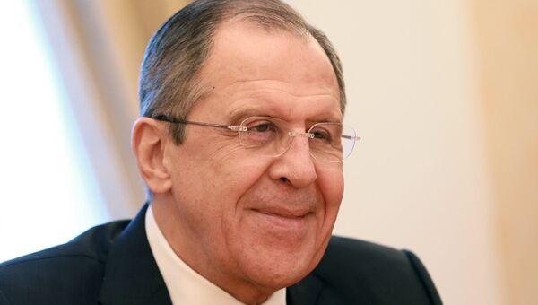 Министр иностранных дел РФ С. Лавров. Архивное фото