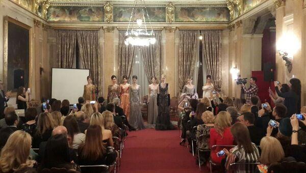 Вечер модельера Валентина Юдашкина в посольстве Италии в Москве