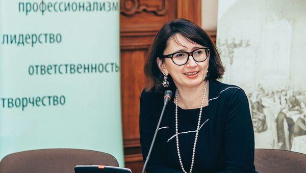 Генеральный директор Благотворительного фонда В. Потанина Оксана Орачева