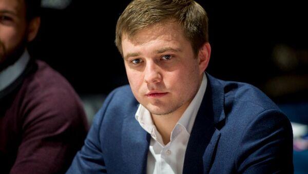Глава Молодой гвардии Единой России Денис Давыдов